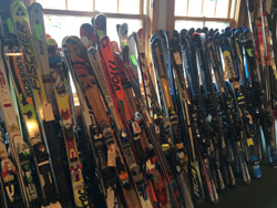 Skis for sale photo