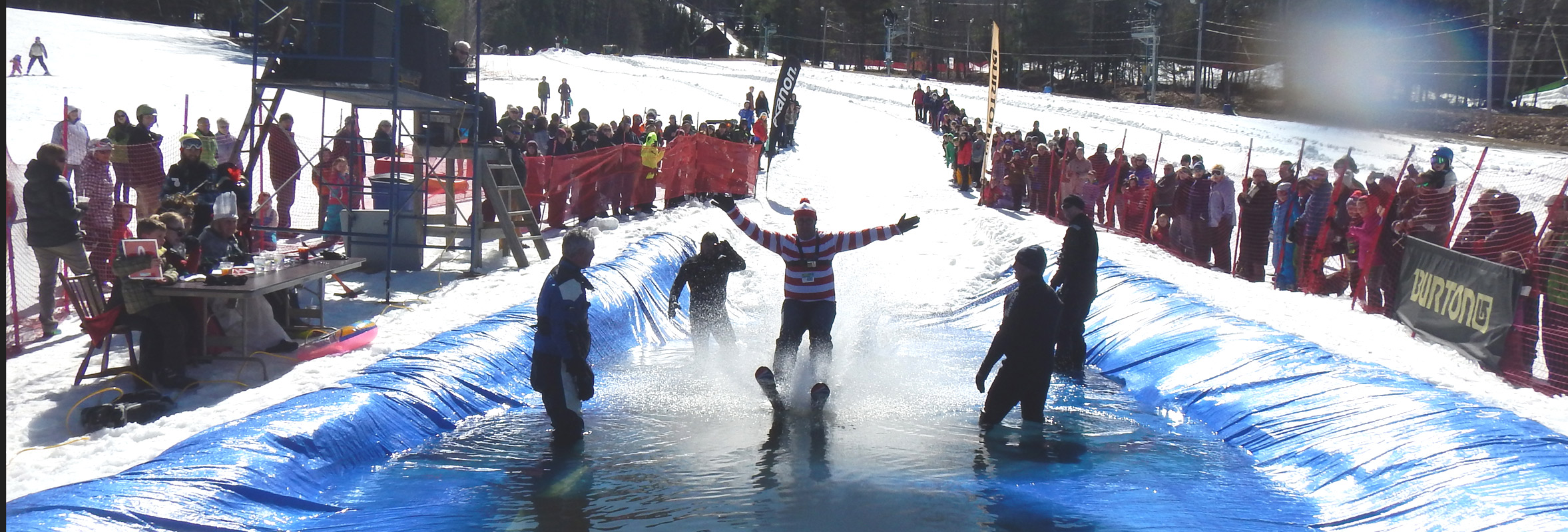 Photo of Pond Skim Event
