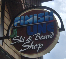 Finish Sign Sign