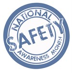 National Safety Awareness Month logo