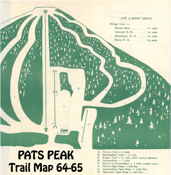 Trail Map 1964-65